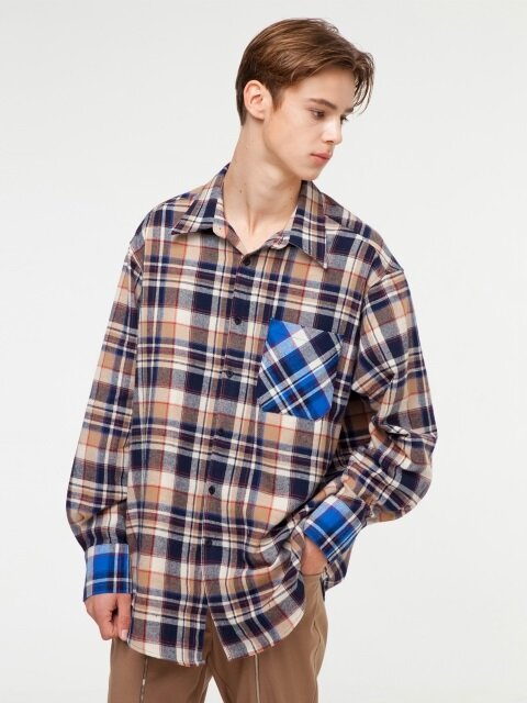 GT18FW02 CHECK SHIRT