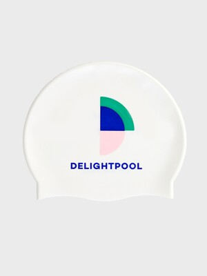 It's Not A Competition Swim Cap - White (pearl)