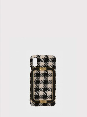 IPHONE X/XS CASE LINEY GINGHAM CHECK