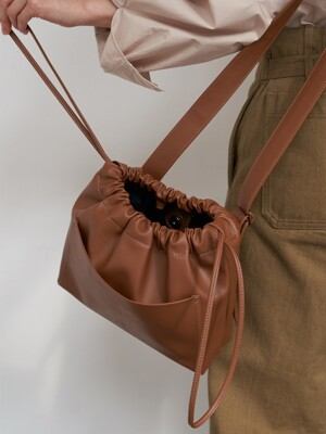 mini ohou bucket bag (4color)