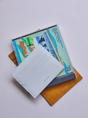 BOX CARD WALLET SMALL (7 COLOR)