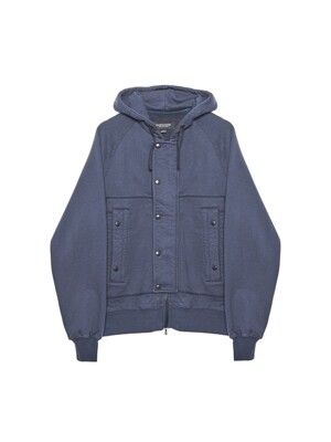 AF HOODED SWEAT JUMPER / NAVY