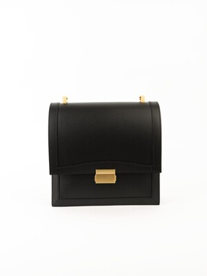 Brick square bag (Black)
