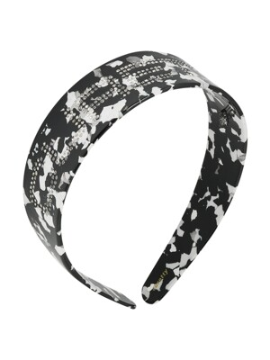 C RHINESTONE LOGO HAIR BAND_MIX