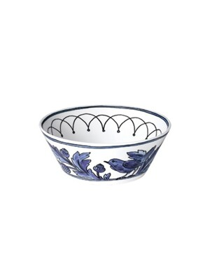 Heritage Blue Bird Soup bowl