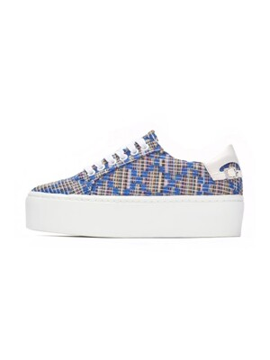 WOOVEN BACK POINT SNEAKERS NUH4477BL
