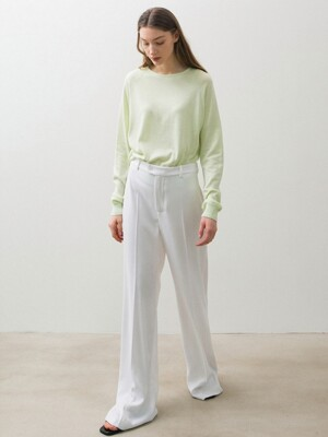 Organic Clean knit - Lime