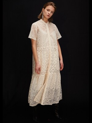 TIER DRESS LACE