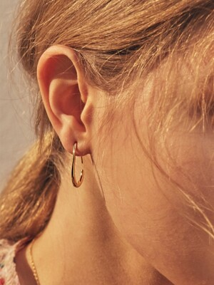 hook-type drip earring