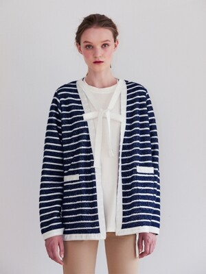 19FW PRE-FALL TERRY CARDIGAN JACKET