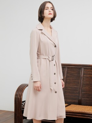 TRENCH ONE-PIECE_BEIGE