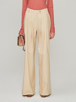 Wide Cotton Pants_Ivory