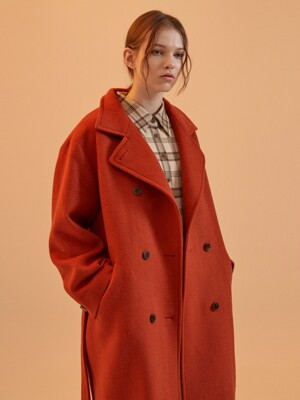 MH12 BLANKET STITCH DOUBLE COAT_RD