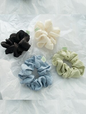 WRINKLE SCRUNCHIES_4COLOR