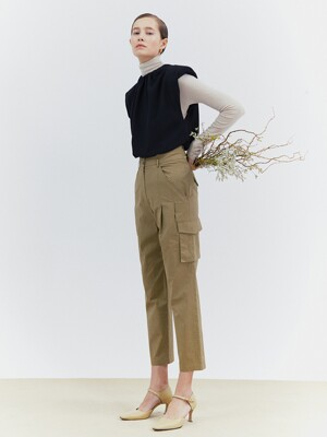 [Classy Cotton] Out Pocket Cargo Pants