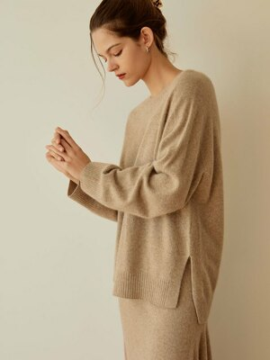 Fox Whole Garment Knit(Beige)