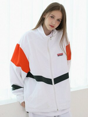 [UNISEX] COLORING EDITION JUMPER_IVORY-ORANGE