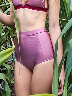 HIGH WAIST BOTTOM_DUSTY PINK