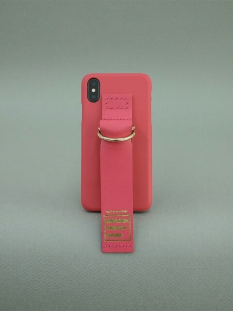 SUN CASE LEATHER CORAL PINK