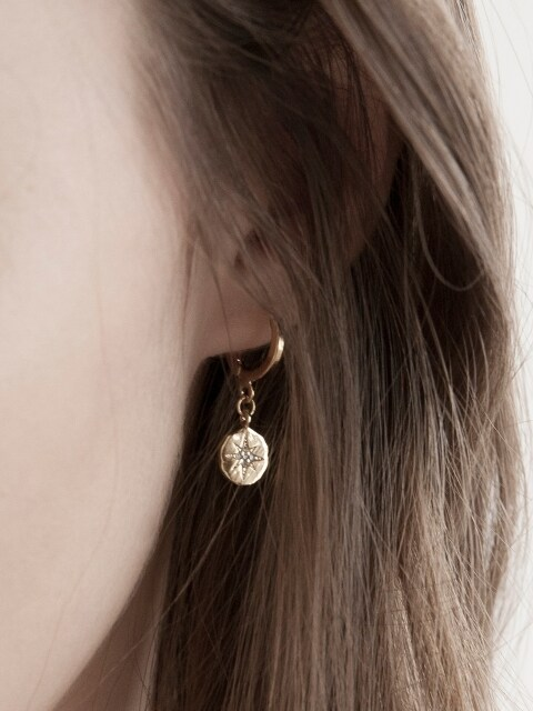 Stella Coin Earrings