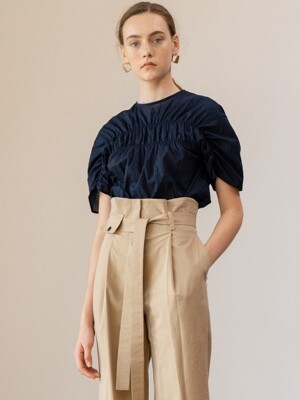SS19 Sharring Blouse Navy