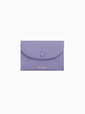 REIMS W019 Envelope Card Wallet Lilac