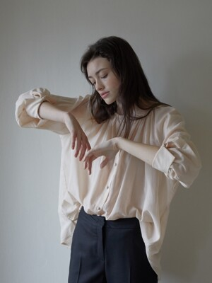 GRACE BLOUSE (NUDE)