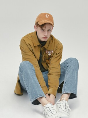 [FW19 T&J] Corduroy Cheese Pocket Shirts(Beige)