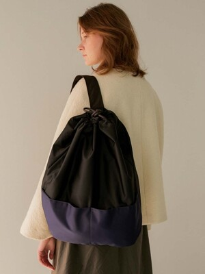 One Strap Backpack_Black