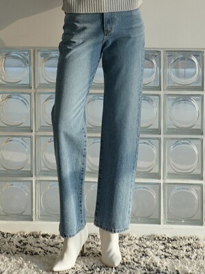 OU524 rough daily denim pt (medium blue)