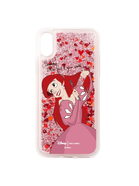 [Disney│highcheeks] Ariel Heart Glitter Phone Case