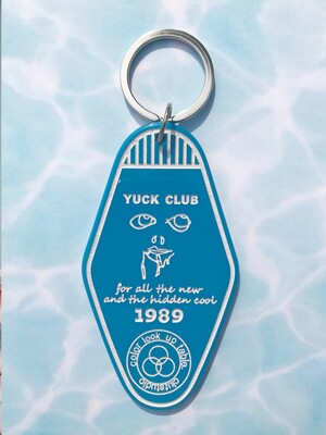1 3 yuck club acrylic keyring (6color)