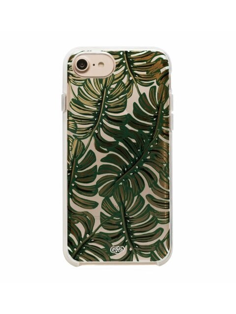 Clear Monstera iPhone Case