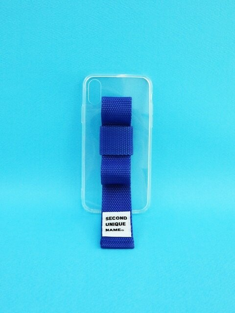 SUN CASE RIBBON CLEAR BLUE (JELLY CASE)