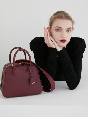 City Bag Bordeaux Medium