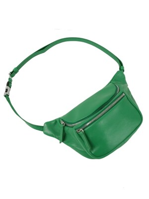 croissant penny bag_happy green