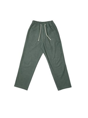 MODOO PANTS_TAPERED (OLIVE GREEN)