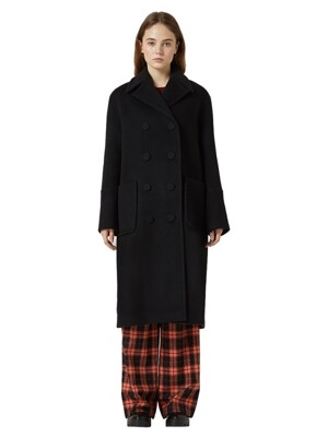 COLOR OVERFIT COAT WFWCT-021-BK