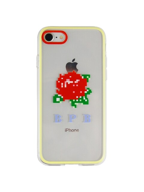 PIXEL ROSE IPHONE CASE_RED