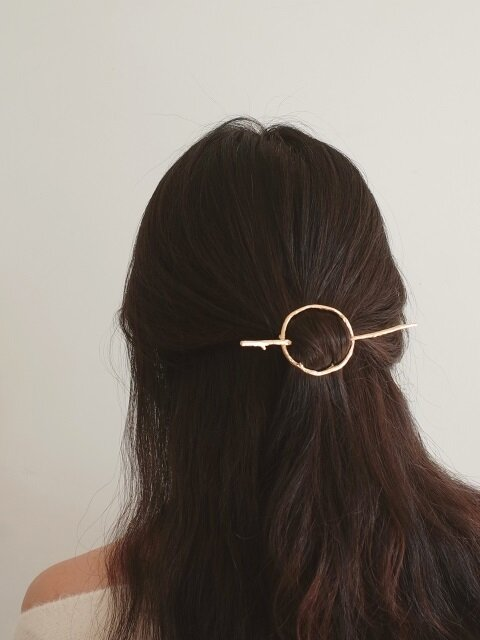 [단독] Wood Texture Hairpiece-S