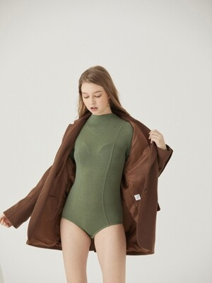 WOOL BODY SUIT [GREEN]