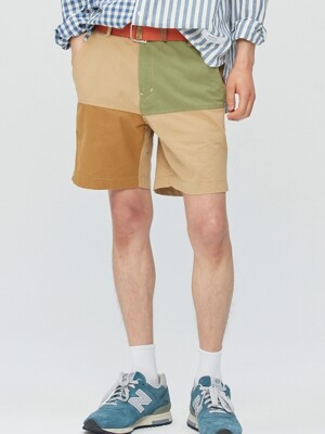 Color-block Easy Shorts (mix)