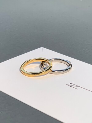 Romantic Simple Ring (2color)