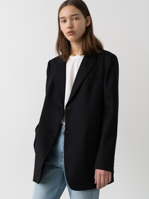 Ticket Pocket Jacket_Black