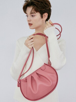 Mini Wave bag_Rose pink