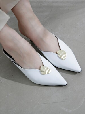 Wave  line Mule  MD19SS1031 White