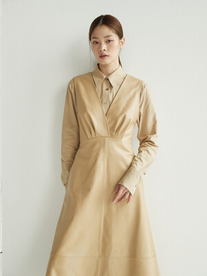 YEOUINARU One pocket basic shirt (Beige)