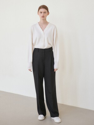 21SN new wide pants [BK]