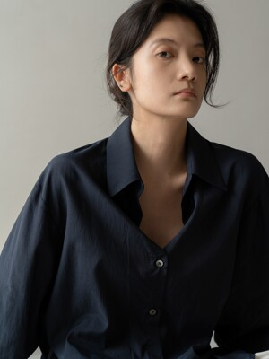 SILKY SHIRTS - NAVY