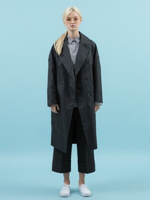 payday daily raincoat (black)
